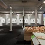NYU OPEN HOUSE INCLUDES A MODEL OF THE UNIVERSITY'S EXPANSION PLANS. (JEREMY BITTERMANN)