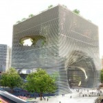 TECHNOLOGY, EDUCATION, KNOWLEDGE (TEK) CENTER IN TAIPEI, TAIWAN WILL HOUSE ACTIVITIES RELATED TO CONTEMPORARY TECHNOLOGY AND MEDIA. (COURTESY BIG)