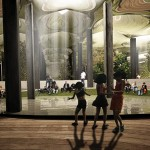 NATURAL LIGHT WOULD BE DIVERTED INTO THE DELANCEY UNDERGROUND SPACE. (COURTESY RAAD STUDIO)