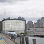 RENDERING OF DUGGAL'S WATERFRONT HYBRID FACILITY AT THE BROOKLYN NAVY YARD. (COURTESY STUDIOS GO)
