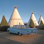 THE WIGWAM HOTEL IN HOLBROOK, ARIZONA. (AMANDA DAGUE)