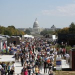 A SCENE FROM THE LAST SOLAR DECATHLON HELD IN 2009 ON THE NATIONAL MALL. (STEFANO PALTERA)